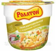 "Пюре картопляне стакан 40г Смажена цибуля ""Роллтон"" (1/24)"