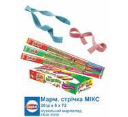 СААДЕТ Мармеладна стрічка MIX 20г*72шт