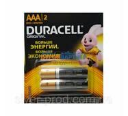Батарейка Duracell ААА міні-пальчик в пленке 2шт (1/168)