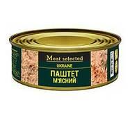 Паштет Meat Selected 240г Мясной (говядина свинина) же/бы (1/27)