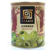 Оливки зелені без кісточки 850г Ellada Colossal ж/б (1/12)