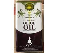 Олія оливкова Olio Extra Virgin 5л Latrovalis Extra Virgine ж/б (1/1)