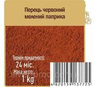 """Паприка красная мелена """"Противень"""" 1кг (1/4)"""