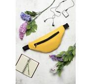 Сумка на пояс бананка Hoso MSH желтая