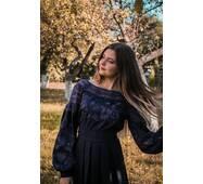 Современное платье вышиванка