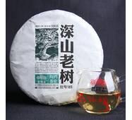 Чай Шен Пуэр Хайвань Лао Тун Чжи Старое дерево 181 2018 года, 500 г