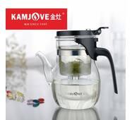 Чайник заварочный с кнопкой Kamjove K-206, 600 мл