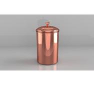 Місткість мідна ZH для зберігання чаю, кави, спецій