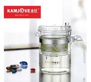 Чайник заварочный с кнопкой Kamjove TP-140, 300 мл