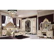 Элитная спальня Афина с фото рисунками. Усиленный каркас кровати в подарок