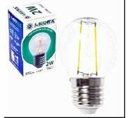 Світлодіодна лампа LEDEX E27, 2W, кулька 190lm, 4000К, FILAMENT 100204