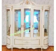 Вітрина біла Алегро 5ти дверна СЛОНІММЕБЛІ