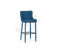 Стілець барний В-120 синій