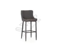 Барный стул B-120 серый