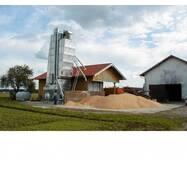 Шахтные сушилки зерна