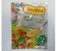 """Приправа універсальна 12 овочів та трав """"Роллтон"""" 60г!! (1/28)"""
