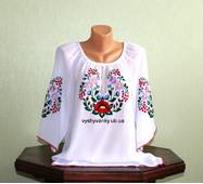 блуза жіноча вишита ручної роботи