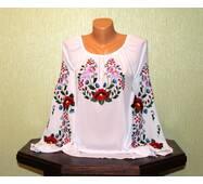 блуза жіноча вишита гладдю