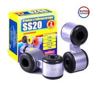 Стійки стабілізатора ВАЗ 2110 (з гумовими втулками), SS20