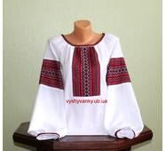 Сорочка жіноча з тканим орнаментом
