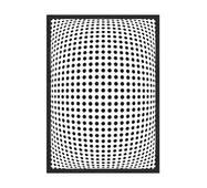 """Постер """"Abstract"""" без скла 42 x 59.4 см в чорній  рамці"""