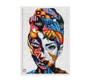 """Постер """"Loft Art"""" без скла 29.7 x 42 см у білій  рамці"""