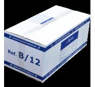 Бандерольний конверт B12, 200 шт, Filmar Польща Білий