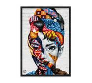 """Постер """"Loft Art"""" із склом антивідблиску 59.6  x 84 см в чорній рамці"""