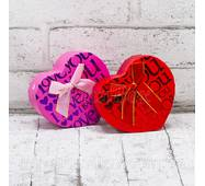 """Подарочная коробка """"Love"""" В упаковке: 6 штук"""