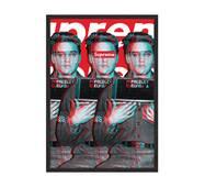 "Постер ""Supreme - Elvis Presley"" без стекла 59.6 x 84 см  в чёрной рамке"