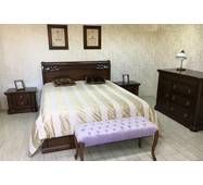 Спальний гарнітур Шопен з натурального дерева