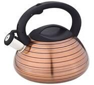 Чайник со свистком  нержавеющий  3л ТМ Все дома 059GL (110-81)