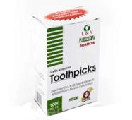 Зубочистка 1000 шт в індивідуальній упаковці без ментолу (44-196)