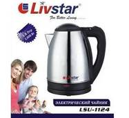 Чайник електричний металевий 1,8 л Livstar  LSU - 1124 (69-268)