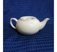 Чайник  керамический  белый 700 мл 6380875 (8-472)