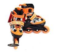 Ролики Profi Roller A 6045 L (39-42) оранжевый