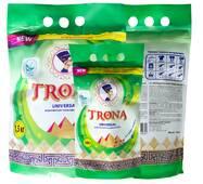Порошок стиральный бесфосфатный TRONA Universal с отбеливающим эффектом 2 кг