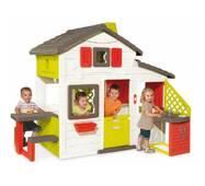 Детский домик Smoby с чердаком и летней кухней