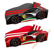 Ліжко-машина Ferrari Еліт 70x150 м'яка