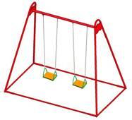 Детские качели на цепях (DIO-312) для улицы