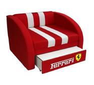 Дитяче крісло-ліжко Smart червона 170 - 80см