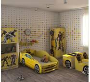 Детская кровать-машина из серии Трансформеры