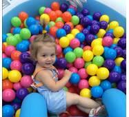Кульки у басейн великі 8см (колір будь-який) від 1шт