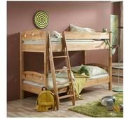 Двоповерхове ліжко трансформер з дерева бук