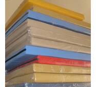 Мат улучшенный 100х120см 10 см толщины с молнией для детей. Спортивный гимнастический крепкий мат