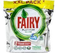 Капсулы для посудомоечной машины Fairy Platinum 70