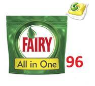 Капсулы для посудомоечной машины Fairy Original All in One 96 шт Бельгия