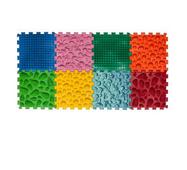 Масажний коврик Мікс Пазли 8 елементов Ortek