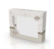Коробка из гофры для постельного белья 355х90х275 мм Texstile