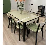 Розкладний стіл Верона зі стільцями Флора